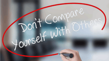 Dont Compare Yurself to Others