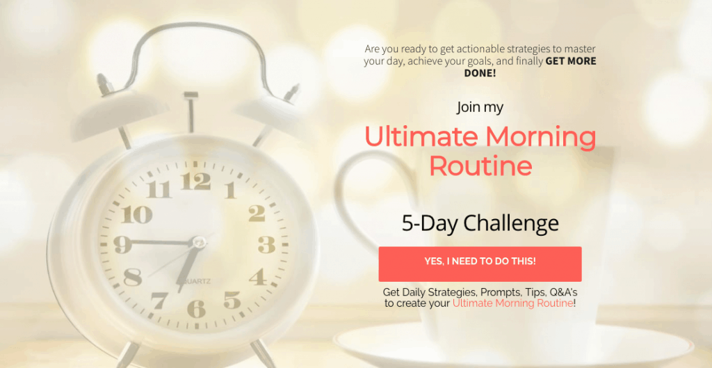 Ultimate Morning Routine
