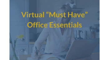 Virtual Office Must Have Essentions