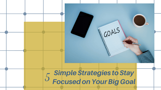 Simple Goals Strategy